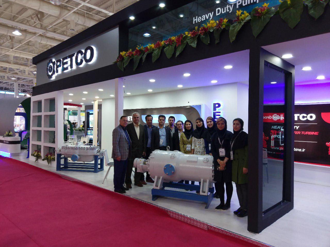 غرفه شرکت پتکو در بیست و سومین نمایشگاه بین المللی نفت، گاز، پالایش و پتروشیمی